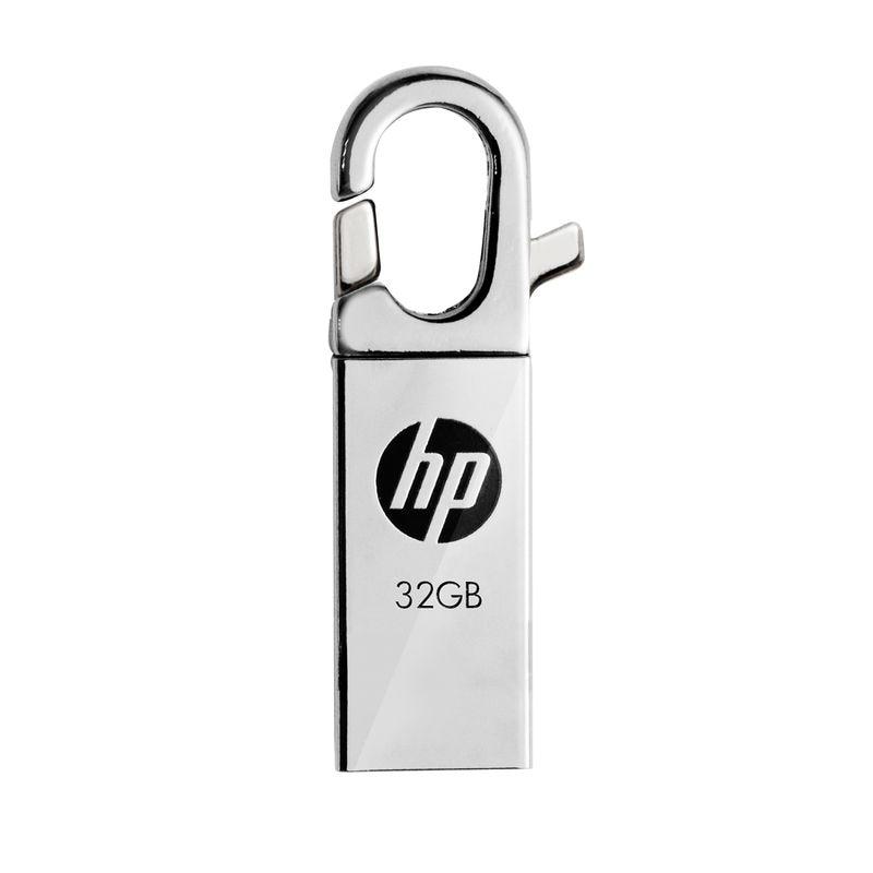 HP v252w USB Flash Drive 32gb Metal Pendrive High Speed USB Stick Pen Drive Real Capacity Flash Drive 32GB U disk Flash Drives music note style usb 2 0 flash drive white black 32gb