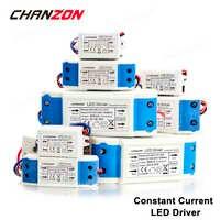 Controlador de LED externo de corriente constante 1W 3W 5W 10W 20W 36W 50W 300mA 450mA 600mA 900mA 1500mA transformador de iluminación de aislamiento