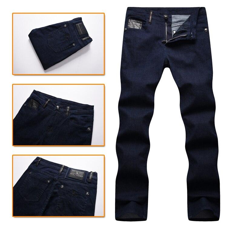 TACE & SHARK billonaire jean hombres 2017 otoño nuevo estilo moda comodidad alta calidad color sólido Caballero libre-in Pantalones vaqueros from Ropa de hombre    1