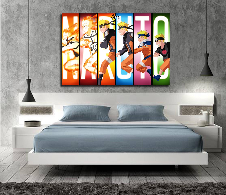 Naruto Shippuden Anime Poster Art Silk Print 12x18 24x36inch Room Decor