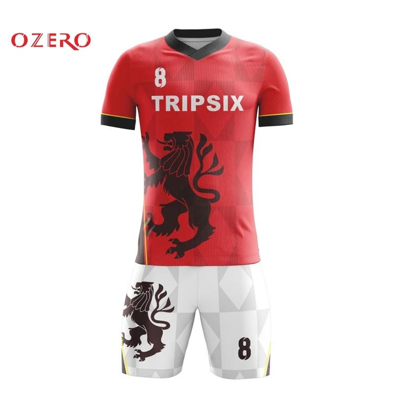 cheap football jerseys authentic soccer shirt new style soccer uniform kit set