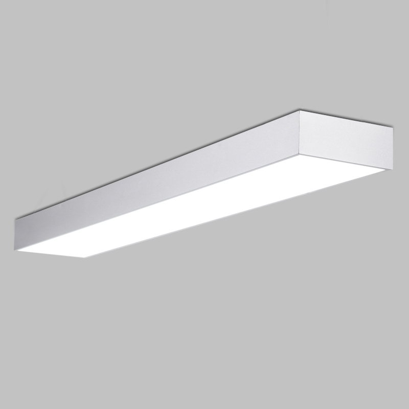 Modern brief alluminum LED ceiling light fixture black/white office planet ceiling lamp Commercial lighting
