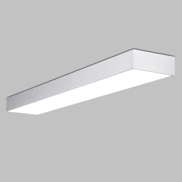 Moderne bref alluminum LED plafond luminaire noir/blanc bureau ... on