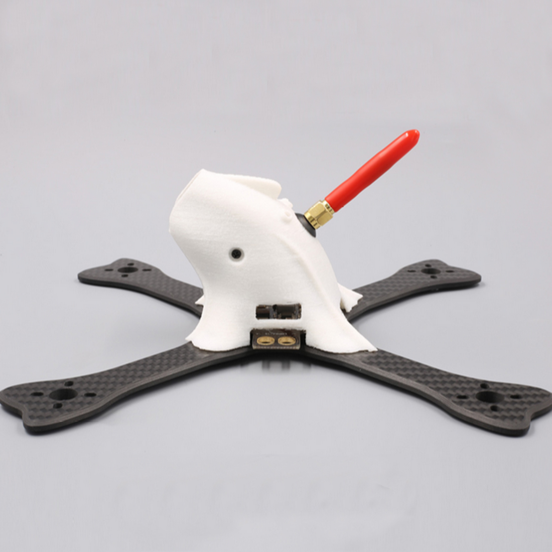 ФОТО FPV Carbon Fiber Frame Kit with 3D Printed Shell for Racing FPV RC Quadcopter Accessories