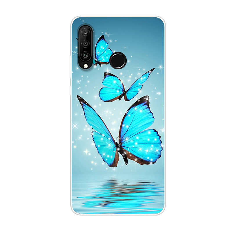Huawei P30 Lite Case For Huawei P30lite Case Silicone TPU Cover Phone Case On Huawei P30 Lite MAR-LX1 MAR-LX1M P 30 Pro Case