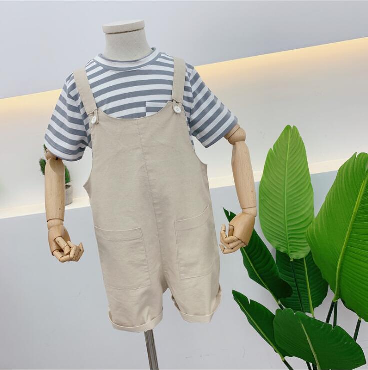 2019 Neue Großhandel Jungen Mädchen Overalls Baumwolle Sommer Mode Kinder Shorts 2-7 T Hq948 Jungen Kleidung Overalls