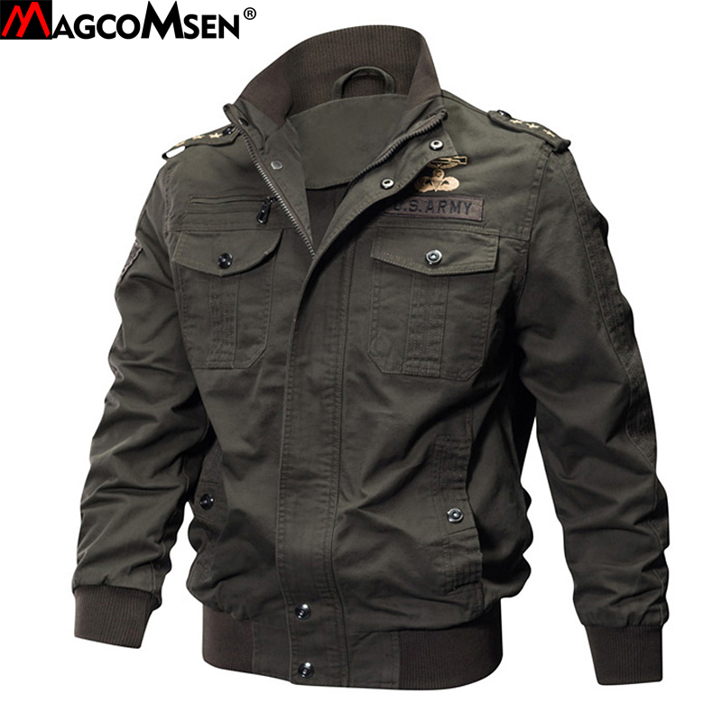 MAGCOMSEN vestes homme hiver militaire Bomber veste et manteau pour homme armée tactique veste coupe vent Jaqueta Masculino SSFC 15-in Vestes from Vêtements homme on AliExpress - 11.11_Double 11_Singles' Day 1