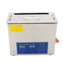 6L Tanque Limpiador Ultrasónico Digital Bath w/Temporizador de la Máquina de Limpieza