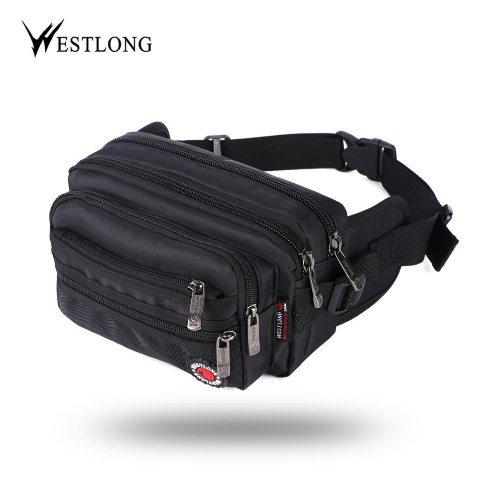 Waist Pack Casual Functional Fashion Men Waterproof Fanny Pack Women Belt Bum Bag Male Phone Wallet Pouch Bags Unisex 98011