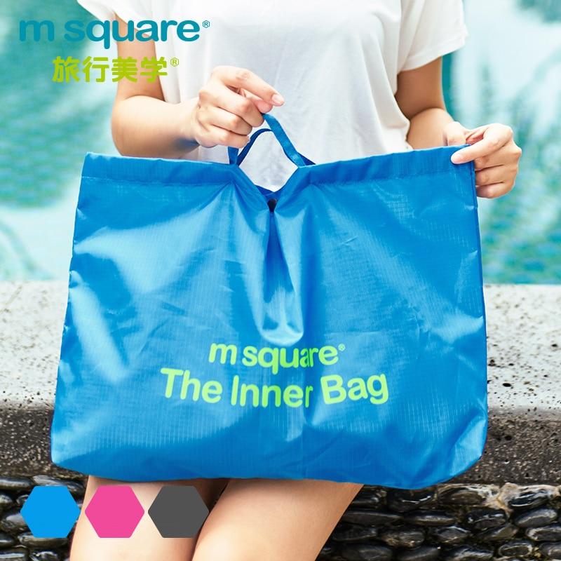 M Square Travel PVC ხელჩანთა ქალთა - ჩანთები - ფოტო 4
