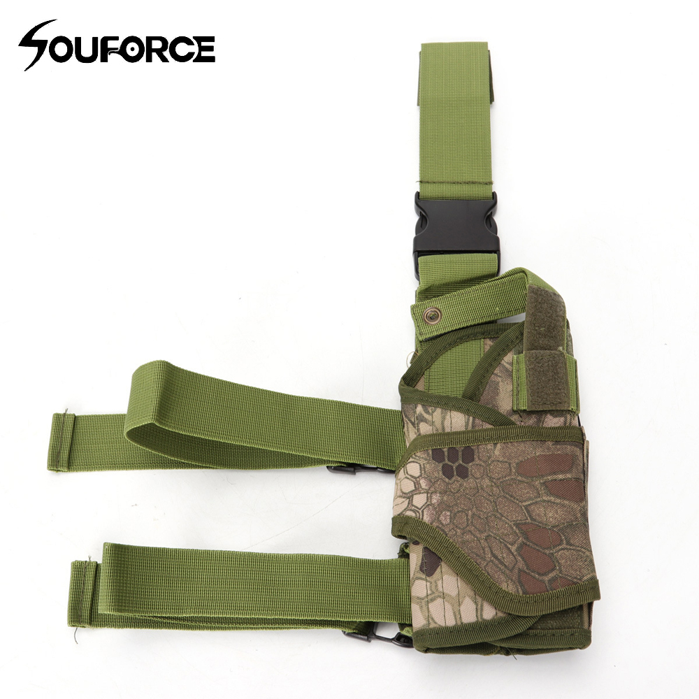 Sports & Entertainment Hunting Bags & Holsters Tactical Gun Sleeve Adjustable Size Universal Accessories Bag Universal Multi-functional Leg Bag For Hunting