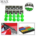 High quality silver 6mm cnc motorcycle parts fairing bolts screws For YAMAHA YZF R1 R6 1998 1999 2000 2001 2002 2003 2004