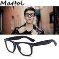 Mattol 2017 Старинные Классические простые очки Женщина мужчина 2140 супер Мода Марка Дизайнер Ретро Очки Для Чтения Спорт óculos de sol