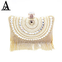 AITESEN Diamonds Clutchs Luxury Bags Michael Handbags Women Famous Brands Women Bags Designer Sac A Main