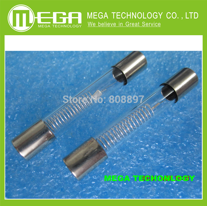 10pcs 5KV 0.75A 750mA Microwave Oven High Voltage Fuse