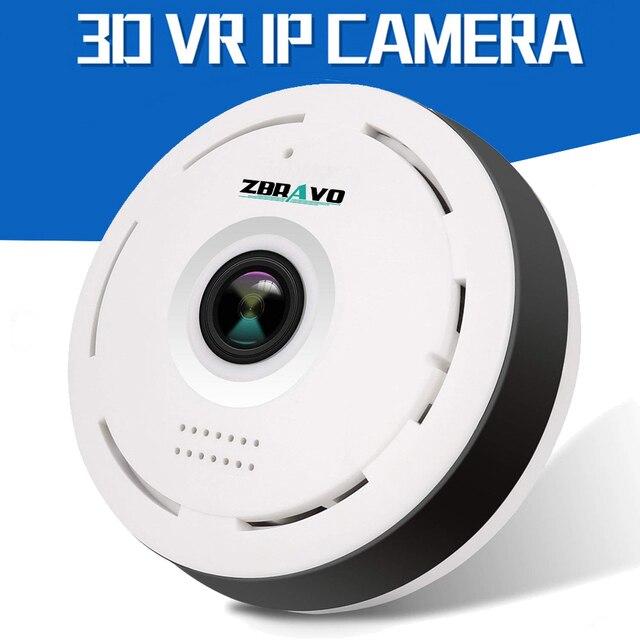 532ab00ac81 960P Panoramic Camera 360 degree CCTV Camera IP Camera Two Way Audio 3D VR  Wifi Camara Fisheye Mini Video Surveillance Cameras