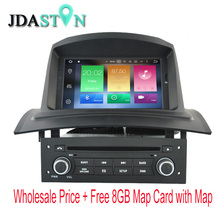 JDASTON 1 DIN Octa Cores 4G Ram Android Car DVD Player For RENAULT Megane Fluence 2002-2008 WIFI Multimedia GPS Navigation Radio