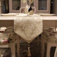 간단한 유럽 테이블 플래그 고급 거실 커피 테이블 러너 테이블 천으로 패션 장식