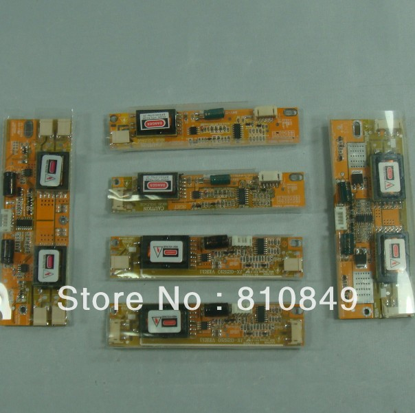6pcs Kinds of Inverter Board for 1lamp 2lamp 4lamp CCFL backlight LCD panel hot sale 4 lamp single port high pressure inverter board lcd screen panel monitor ccfl new 2017