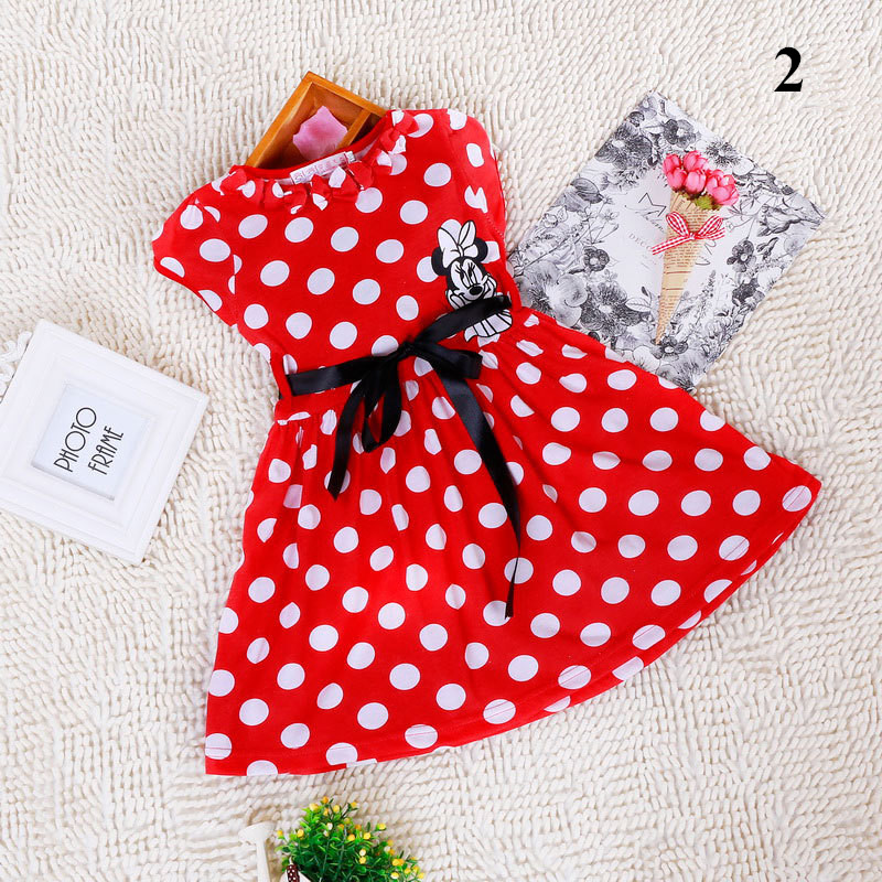 2015-New-High-Quality-Short-Sleeve-Children-Dress-Cartoon-Mouse-Cotton-Kids-Dresses-For-Girls-For-Christmas-New-Year-Clothes-3