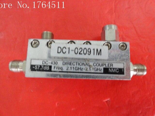 [BELLA] NMC DC-430 2.11-2.17GHz Coup:57.7dB SMA Coaxial Directional Coupler