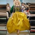 Новый Дизайн Двух Частей Женщины Вечернее Платье 2016 Abendkleider Формальные Тафты Выпускного Вечера Платья Партии Платья Vestidos Де Noche E95