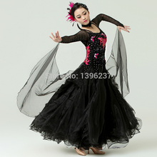 Women Standard Ballroom Dress New Style Gramdeur Waltz Tango Chacha Costume Performance Adult Ballroom Dance Dresses