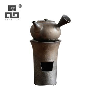 TANGPIN japanese ceramic teapot tea pot kettle chinese kung fu tea sets drinkware tangpin purple clay tea pets monkey cute zisha teapets kung fu tea accessories