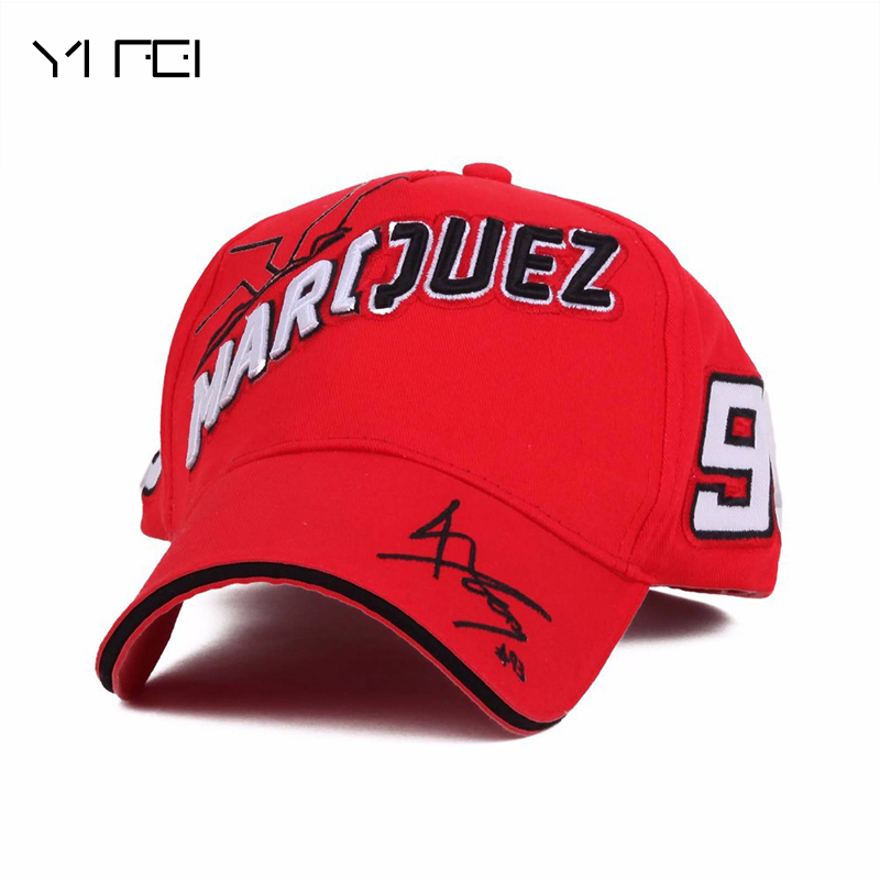 100%COTTON Motorcycle MOTO 93 Big Ant Embroidery Baseball Cap Snapback Motocross Race Cap Oudoor Sport Caps Racing Hat