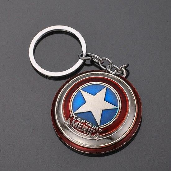 Металлический брелок Marvel, Мстители, Капитан Америка, щит, Человек-паук, Железный человек, маска, брелок, игрушки, Халк, Бэтмен, брелок, подарок, игрушки - Color: D-32