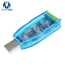 Endüstriyel USB RS485 dönüştürücü yükseltme koruması RS485 dönüştürücü uyumluluğu V2.0 standart RS 485 bir konnektör devre kartı modülü