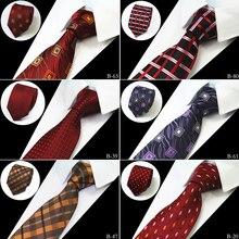 Rbocott в горошек и цветочные и проверить рисунком Галстуки для Для мужчин S 7 см галстук Бизнес партии Интимные аксессуары cravattes Clear В Галстуки