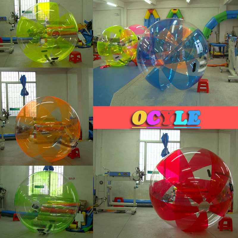 Plaisir en plein air et les sports gonflable zorb balles/boules de marche de l'eau/boule de l'eau, CE/UL livraison gratuite