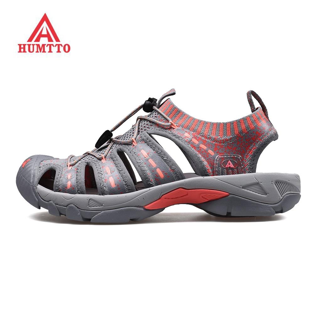HUMTTO Women's Outdoor Trekking Hiking Sandals Shoes Sneakers For Women Water Beach Aqua Barefoot Shoes Sandals Sneakers Woman