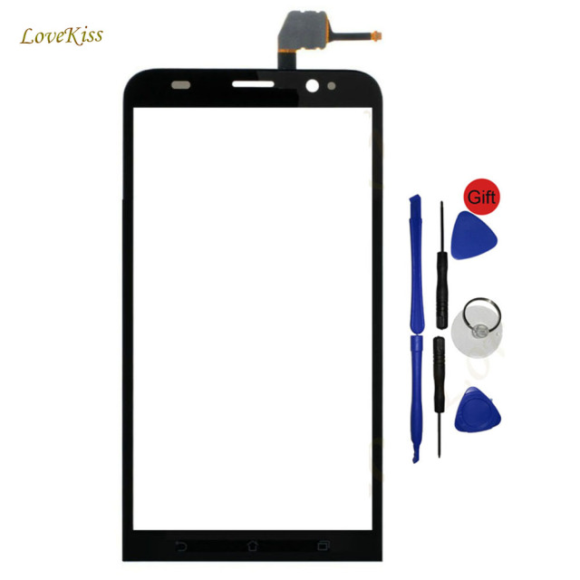"Touch Panel Digitizer For Asus Zenfone 2 Z00AD ZE551ML ZE550ML ZE 550ML 551ML 5.5"" Front Outer Glass Screen Lens Replacement"