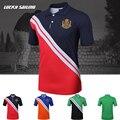 Top Quality Brand Slim Cotton Shirts Polo Shirts Men Fitness Casual Shirt Short Sleeve Tee & Tops Size M-3XL TS129