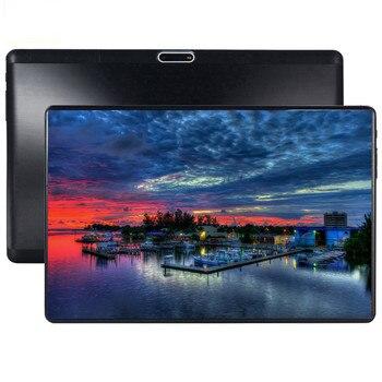 2019 nouveau Android 9.0 la tablette 8 Core 64 GB ROM 3G 4G LTE 1280 800 IPS 5.0MP carte SIM ips tablette 2.5D verre trempé 10.1 S119
