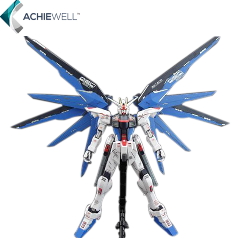 ФОТО  Dragon Momoko MG 1 100 Gundam FREEDOM Wings Model Assemble Anime Models Action Figure Toys Collection