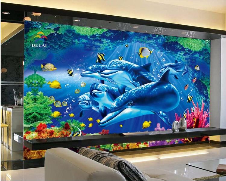 Us 0251 custom photo wallpaper 3d stereoscopic wallpaper for Home 3d wallpaper wallcovering