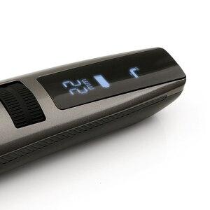Image 4 - Riwa K3 USB Tagliatore di Capelli Professionale Con Cavo USB Ricaricabile Macchina Trimmer Capelli degli uomini Impermeabili Senza Fili Display LCD