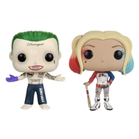 The Suicide Squad The Joker And Harley Quinn Figure Toy For Kids Christmas Gifts