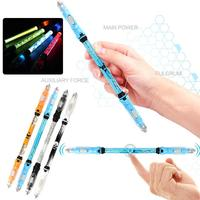 Funny LED Pen Spinner Glow Hand Fidget Stress Relief Stress Spinning Toy Gifts