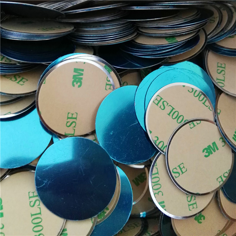 Metal Plate Stickers For Car Phone Magnet Holder Iron Sheet Disk Magnetic Car Phone Holder Mount Auto Stickers 40/35/30/25 Mm