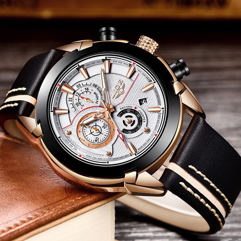 Herenhorloges LUI Topmerk Luxe Heren Militair Sport Horloge Heren - Herenhorloges - Foto 4