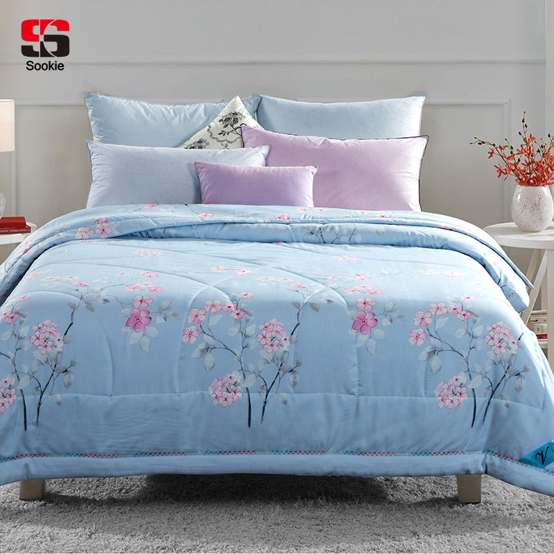Sookie Summer Quilt ᗑ Floral Floral Print Thin Comforter