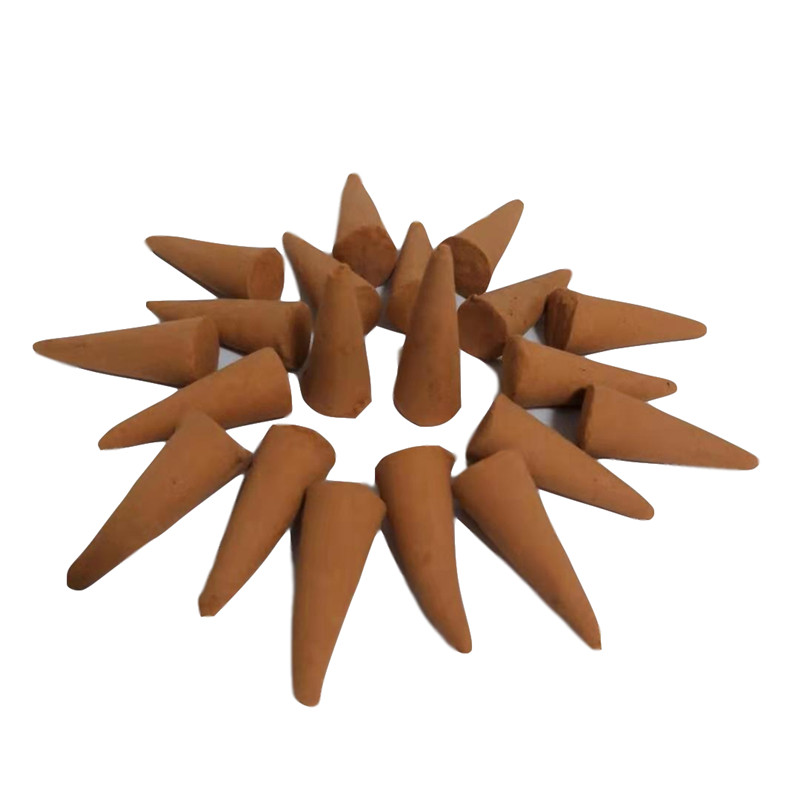 10 Kinds Natural Fragrance Tower Incense Cones Floral Aroma Spice Incense Bullets for Aromatherapy (8)