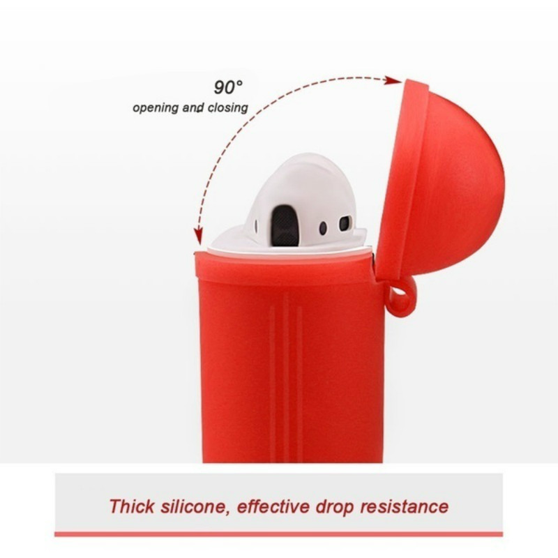 Image 2 - case for iphone airpods headphones wireless case airpods clean/skin soft silicone TPU case for airpods dust guard accessories-in Earphone Accessories from Consumer Electronics
