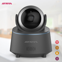 ATFMI T8 WIFI Draadloze IP Camera Home Security Camera Baby/Shop Monitor met twee-weg Audio Motion DetectionServeillance Camera