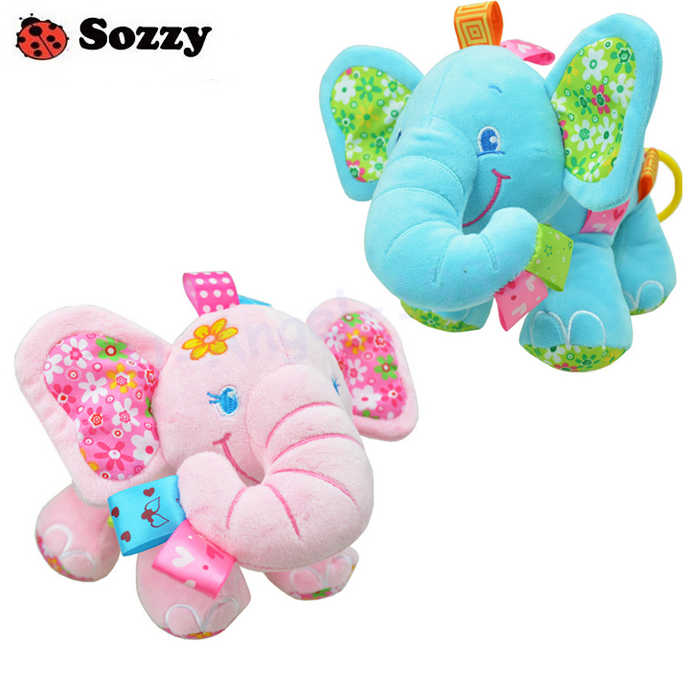 Aggressive Wholesale Baby & Toddler Toys Toys & Hobbies 5pcs Sozzy Multifunction Elephant Pull Two Cars Hanging Bed Hanging Bell Appease Toys Vivid And Great In Style