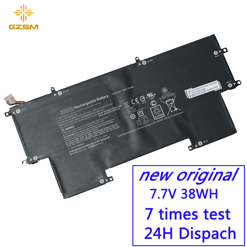 GZSM Laptop Battery EO04XL For HP HSTNN-IB71 Battery For Laptop 828226-005 EliteBook Folio G1 W8Q07AW X2F49EA HSTNN-IB7I Battery